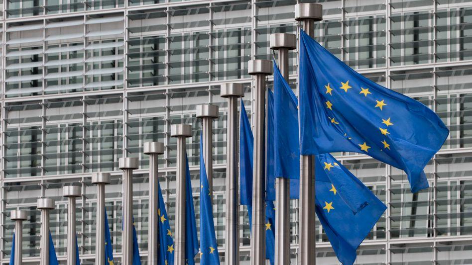EU-Kommission in Brüssel: Ein EU-eigenes System soll Bankdaten durchkämmen