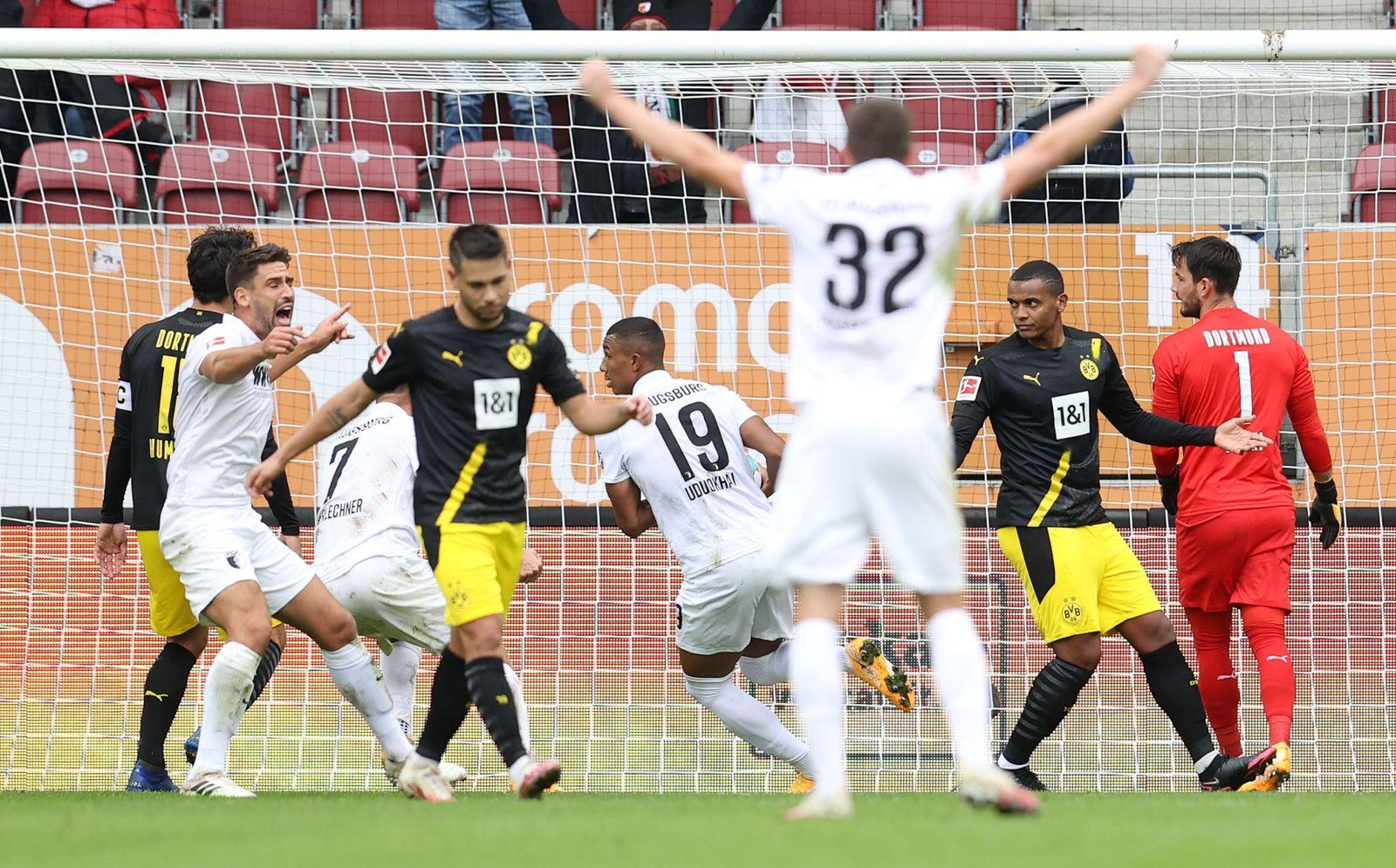 FC Augsburg vs Borussia Dortmund, Germany - 26 Sep 2020