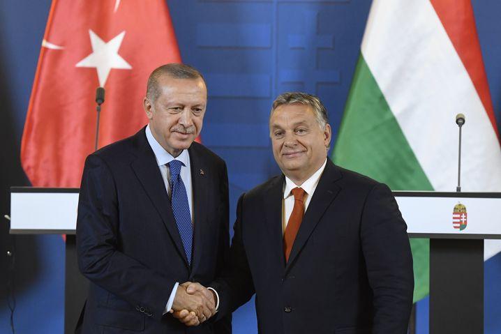 Autokraten Erdogan, Orbán: Enge Freundschaft