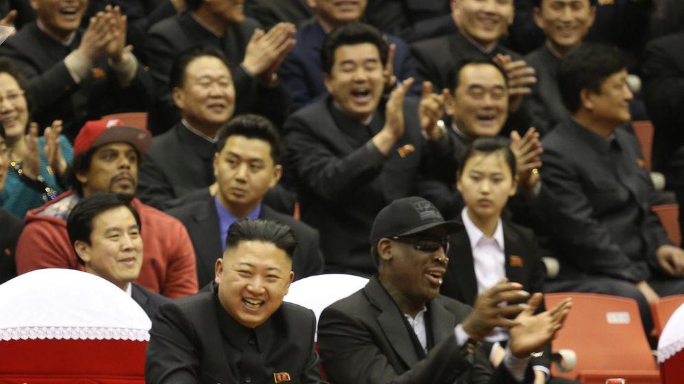 Dennis Rodman und Kim Jong Un: Ziemlich beste Freunde