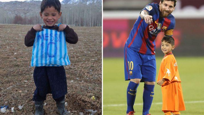 Flucht eines Siebenjährigen: Die Trikots blieben zurück
