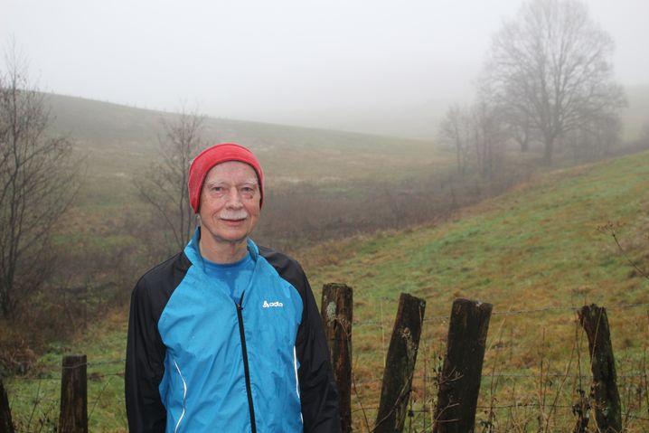 Herbert Löllgen: Für 77 Jahre noch super im Strumpf