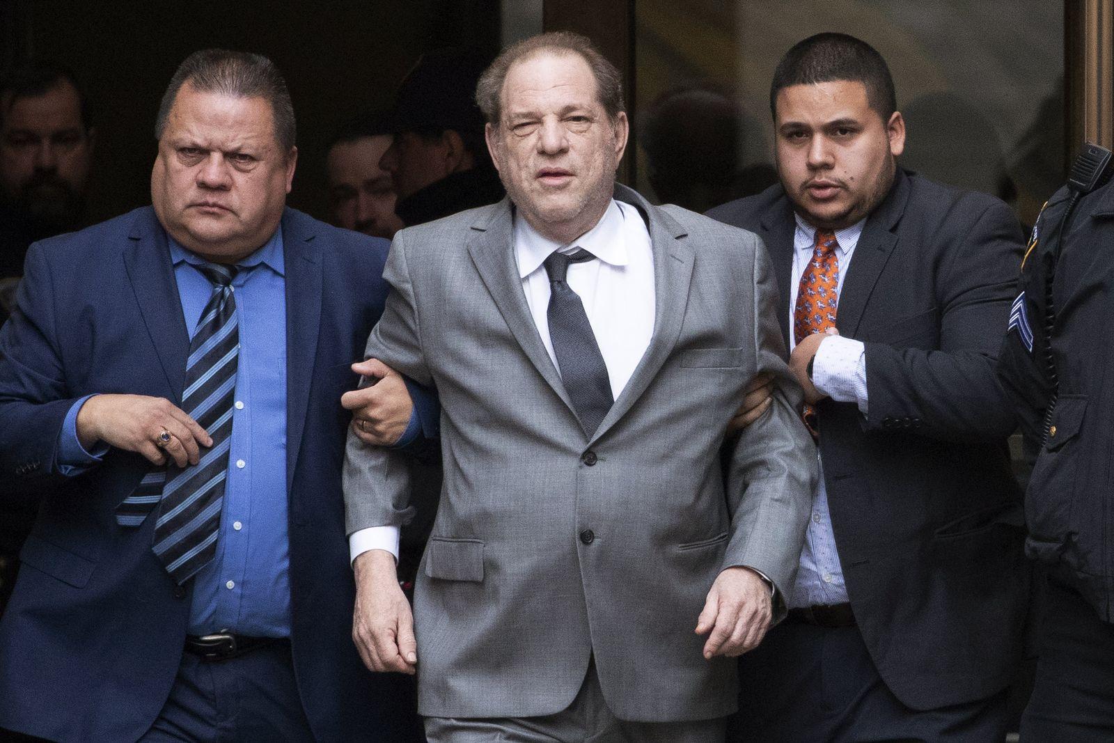 Anhörung im Fall Weinstein