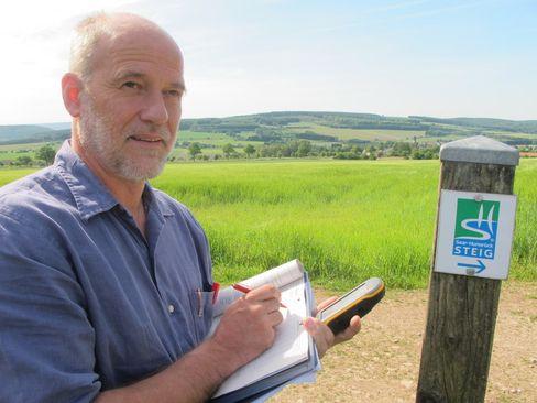 Klaus Erber: Vorsitzender des Deutschen Wanderinstituts