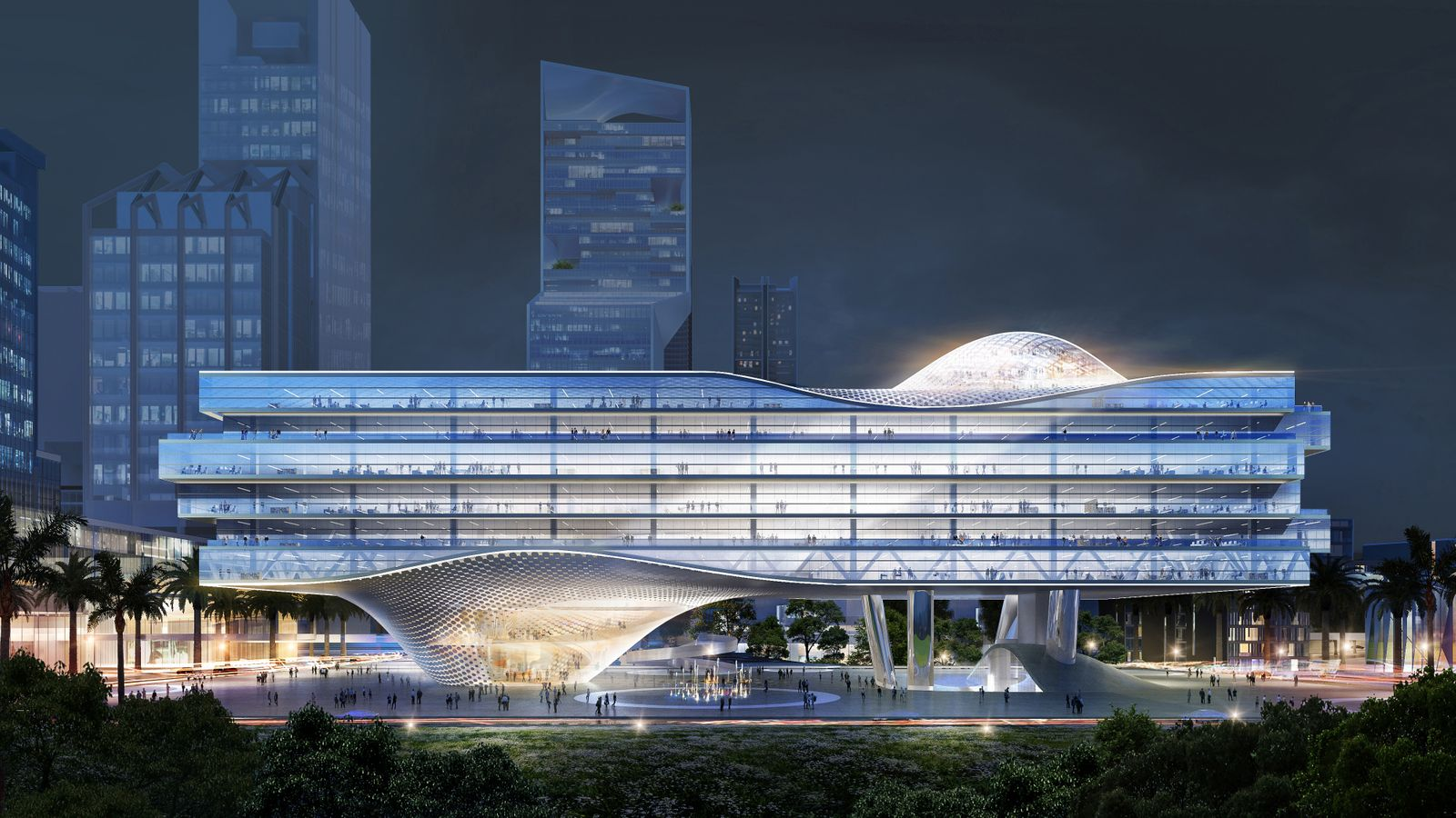 Architektur/ Shenzhen Wave/ Ole Scheeren SPERRFRIST 02.09.20 13:00 UHR!