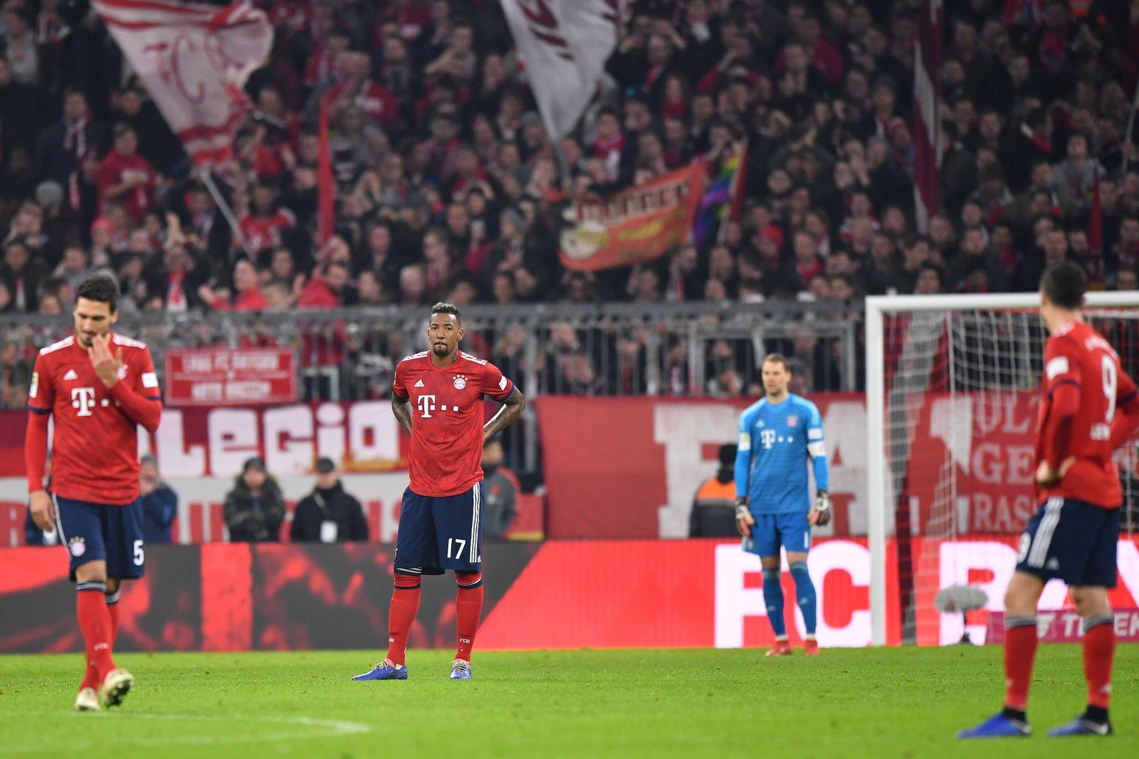 Bayern nach dem Unentschieden