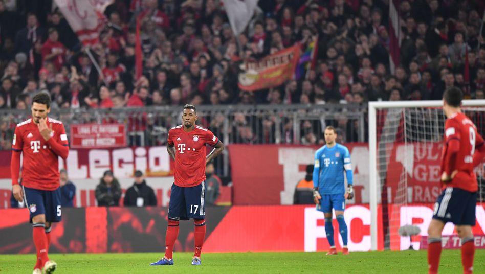 Mats Hummels (von links), Jérôme Boateng, Manuel Neuer und Robert Lewandowski
