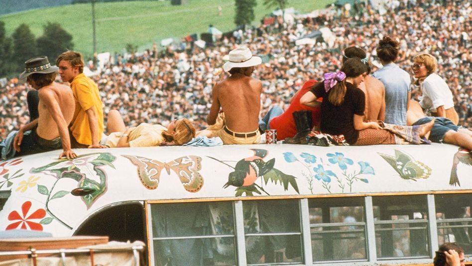 Woodstock-Festival: Der Moment, in dem klar war, dass sich die Dinge geändert hatten