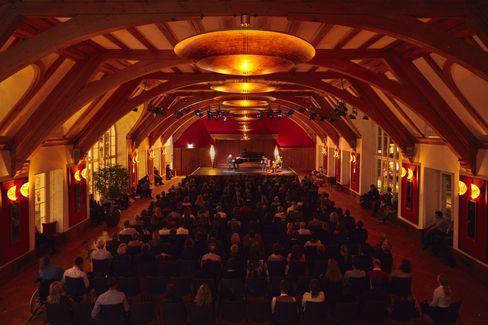 Konzertsaal: »Die Kultur ist für Schloss Elmau der Daseinszweck«