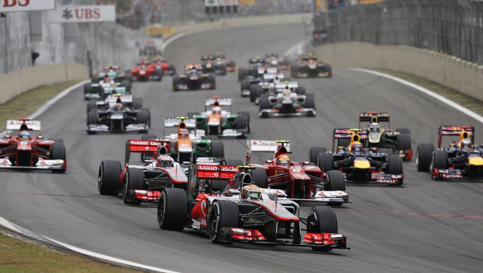 GP von Brasilien: Und plötzlich stand Vettel quer