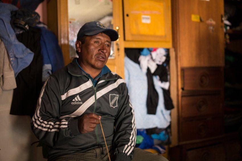 Kinderarbeit Bolivien / Pastor