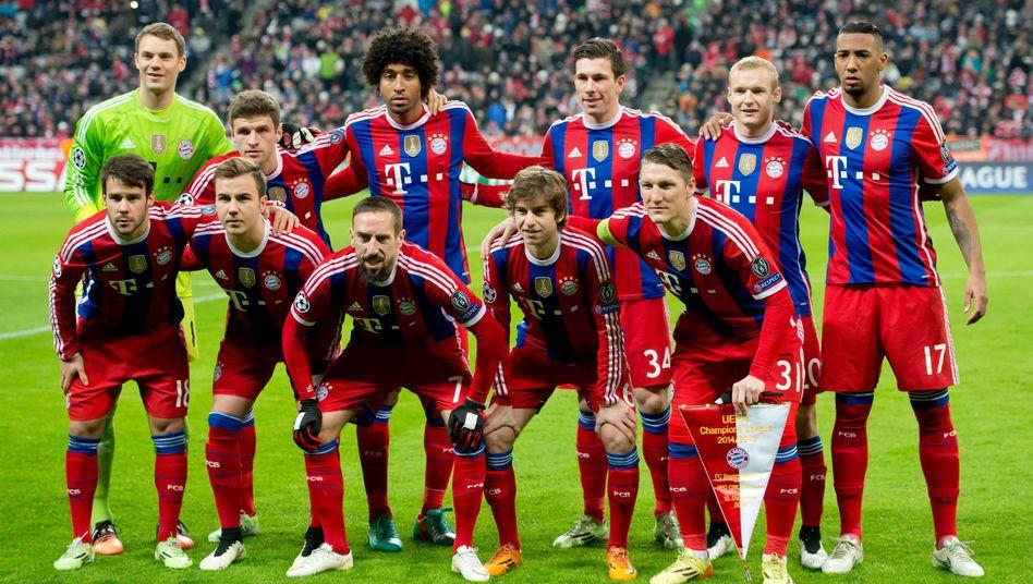 Davor graust es Arsenal: Das Team des FC Bayern München