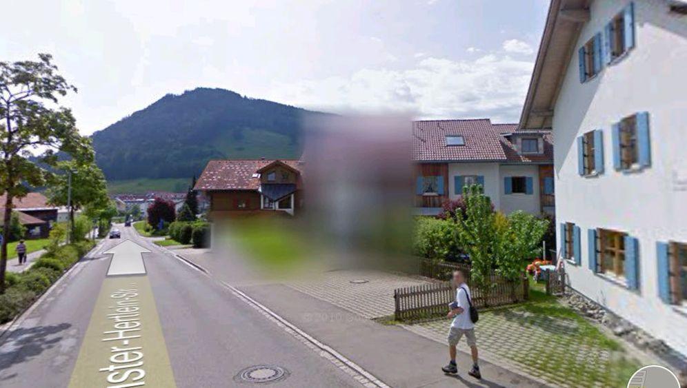 Street View in Oberstaufen: So sehen die Pixel-Patzer aus