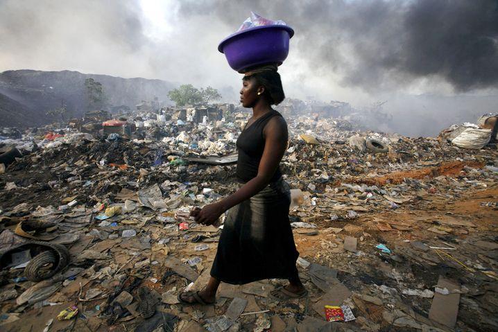 "Nigerianerin in Lagos: ""Dreh dich um"""