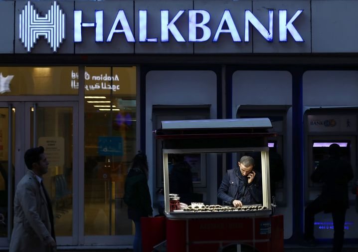 Halkbank's bankruptcy would likely be something of a death blow to the Turkish economy