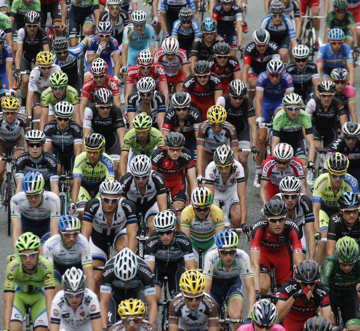 Fahrer der Tour de France