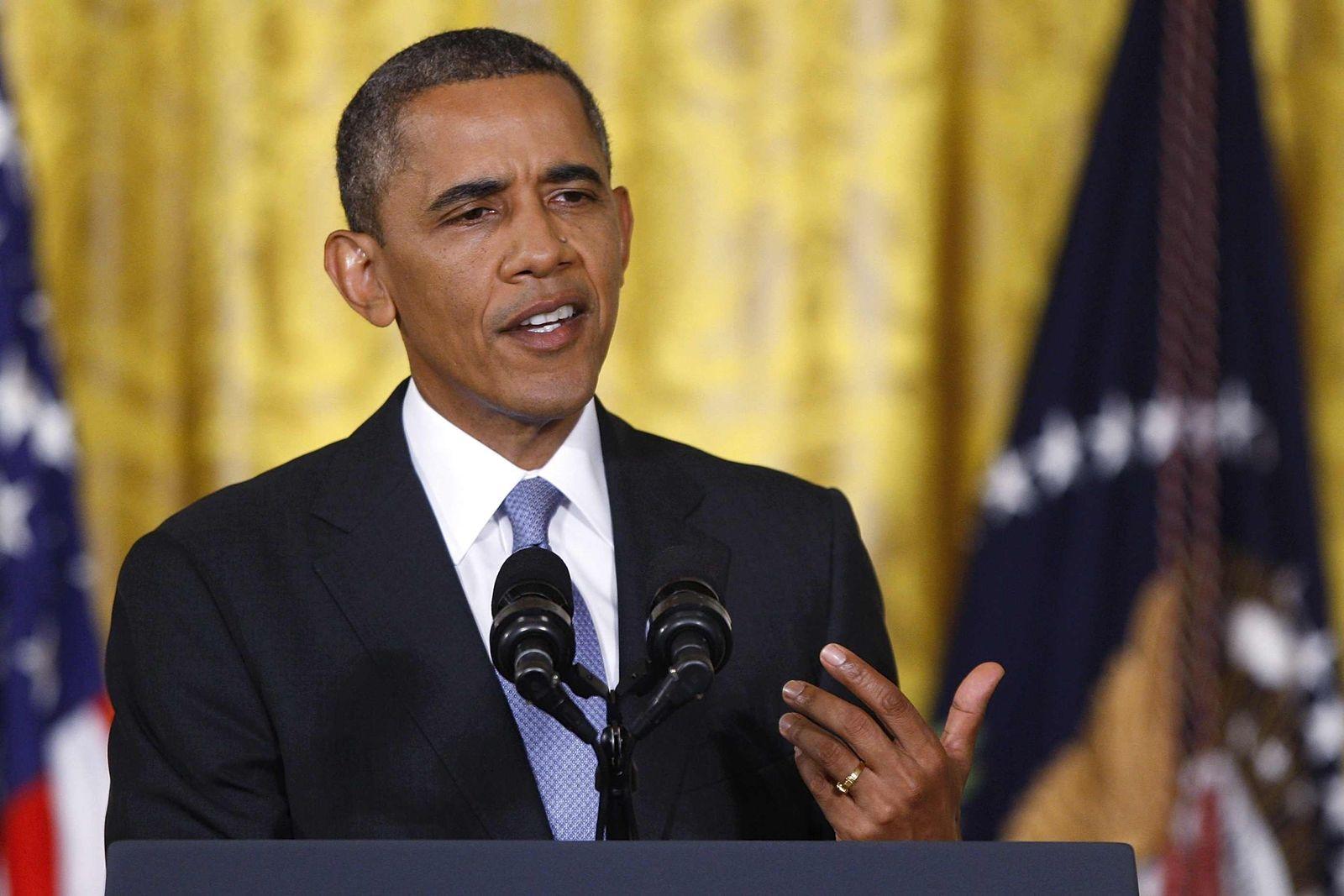 USA-OBAMA/SURVEILLANCE Pressekonferenez