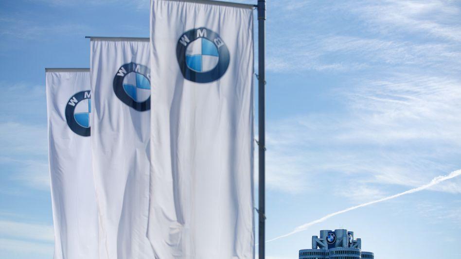 BMW-Sitz in München (Archivbild): Absprache mit teuren Folgen?