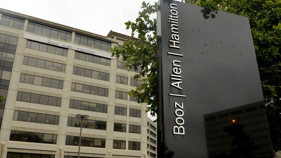 Gebäude von Booz Allen Hamilton (in McLean in den USA): Eine von diversen US-Spionagefirmen mit Sitz in Deutschland