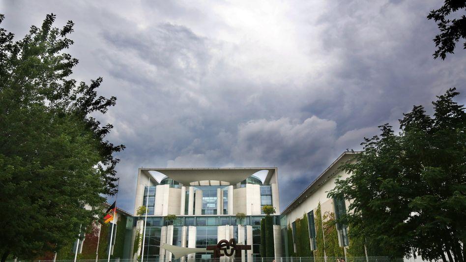 Bundeskanzleramt in Berlin (Archiv)