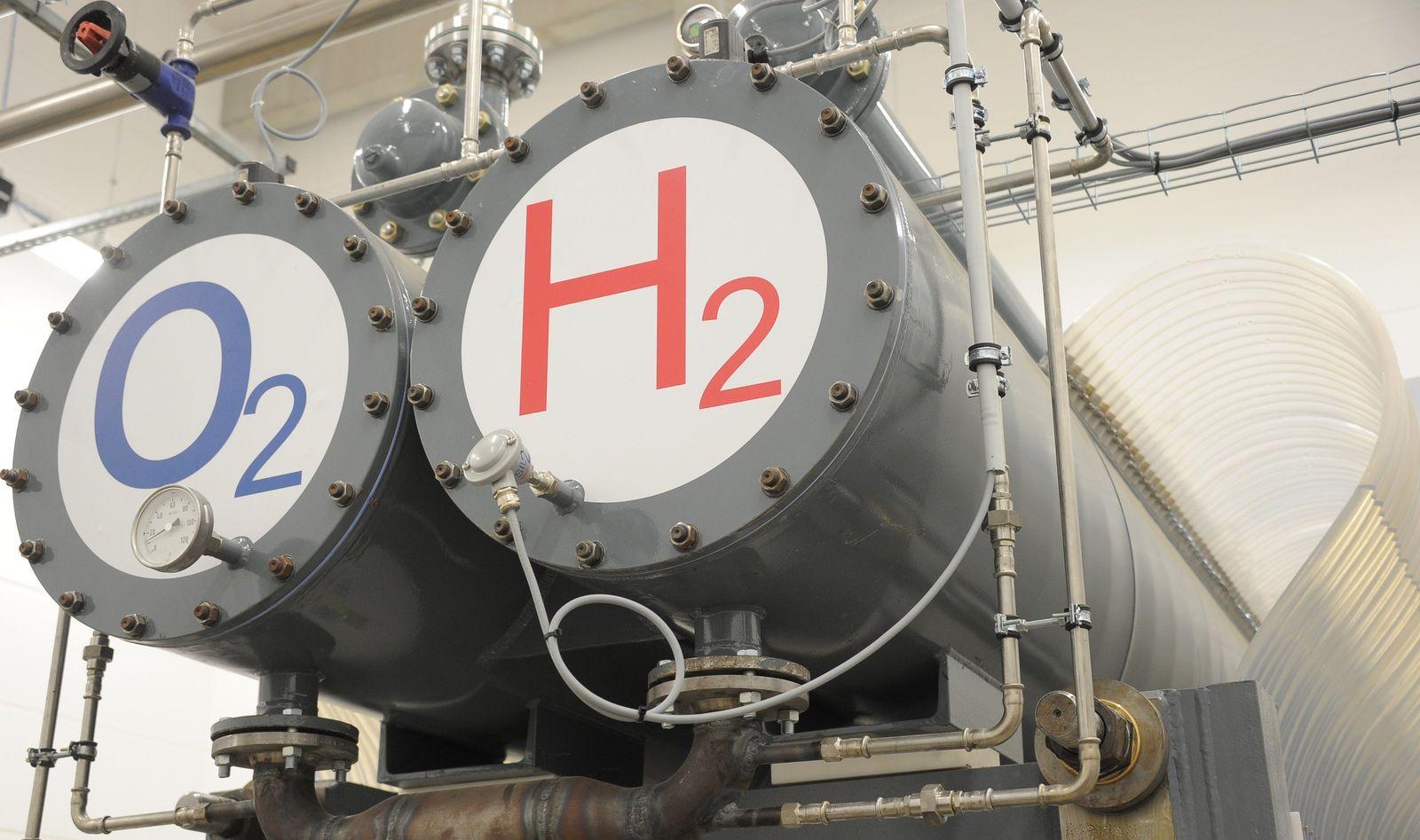 Inbetriebnahme von Wasserstoff-Hybridkraftwerk in Prenzlau