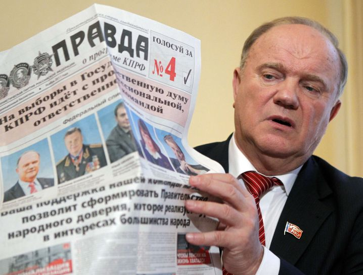 Gennadij Sjuganow: Behäbiger Berufsoppositioneller