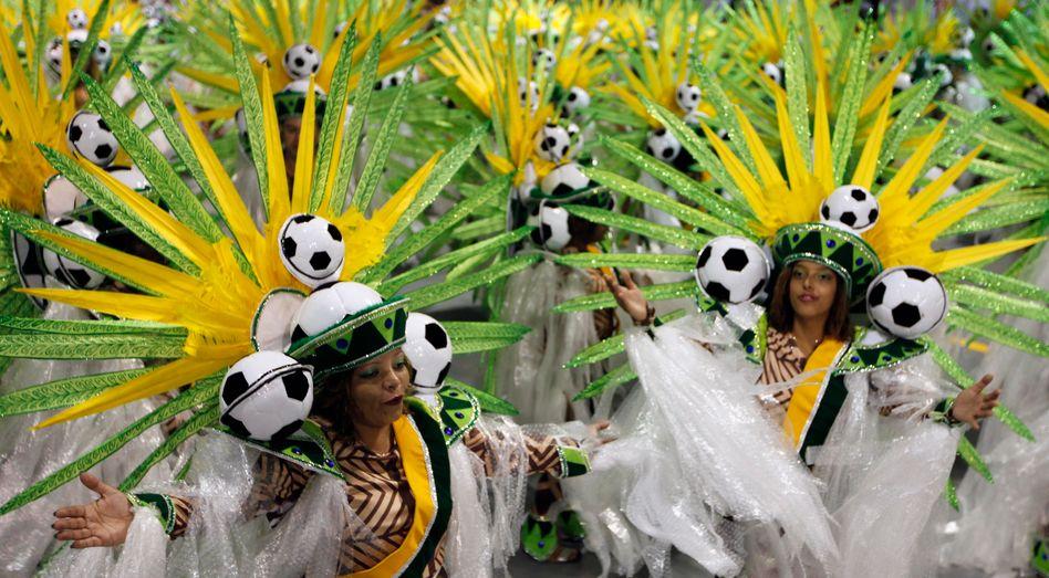 Karneval in São Paulo (Archivbild): Party gestrichen