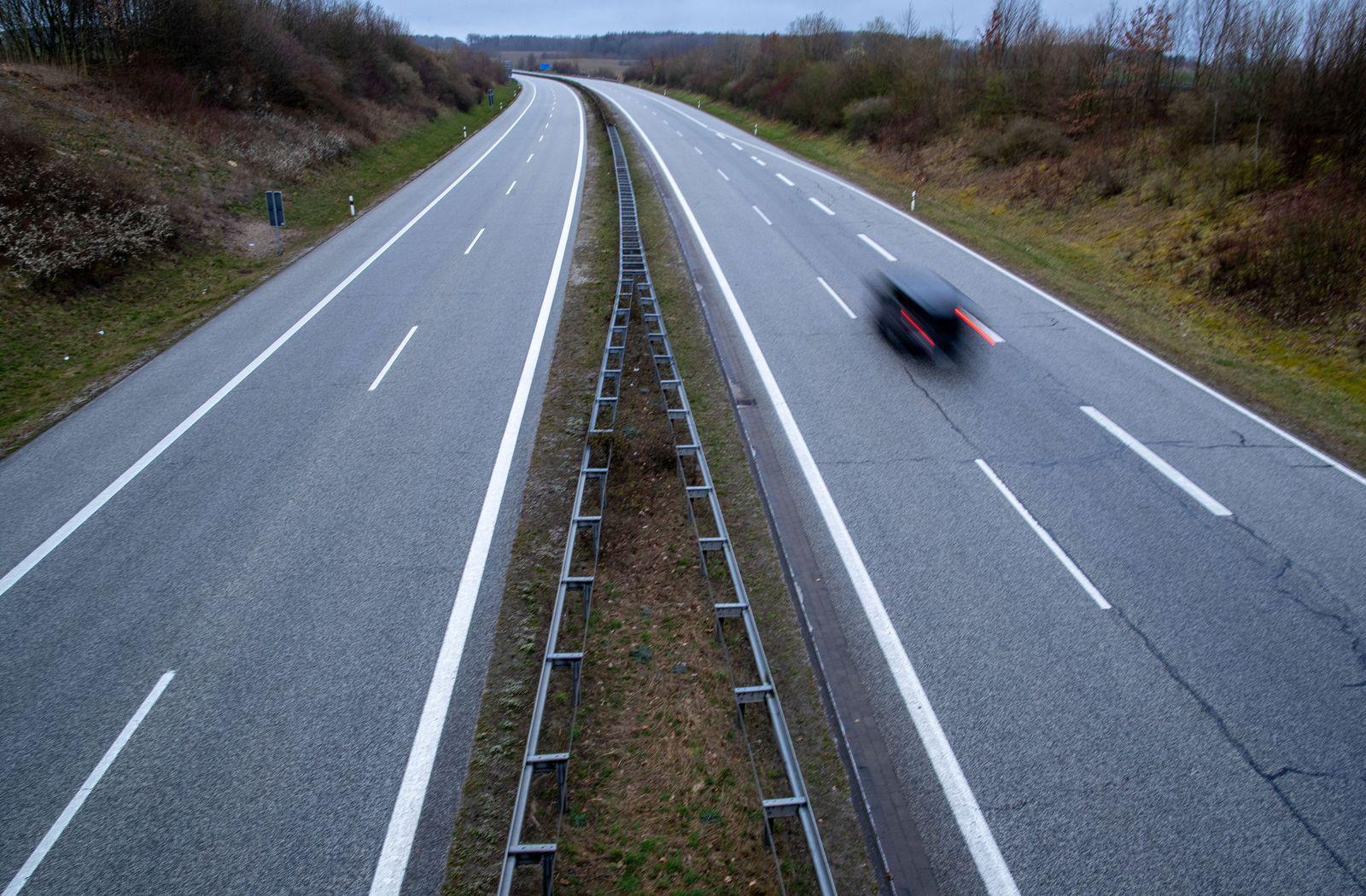 Coronavirus - Ostsee-Autobahn A20