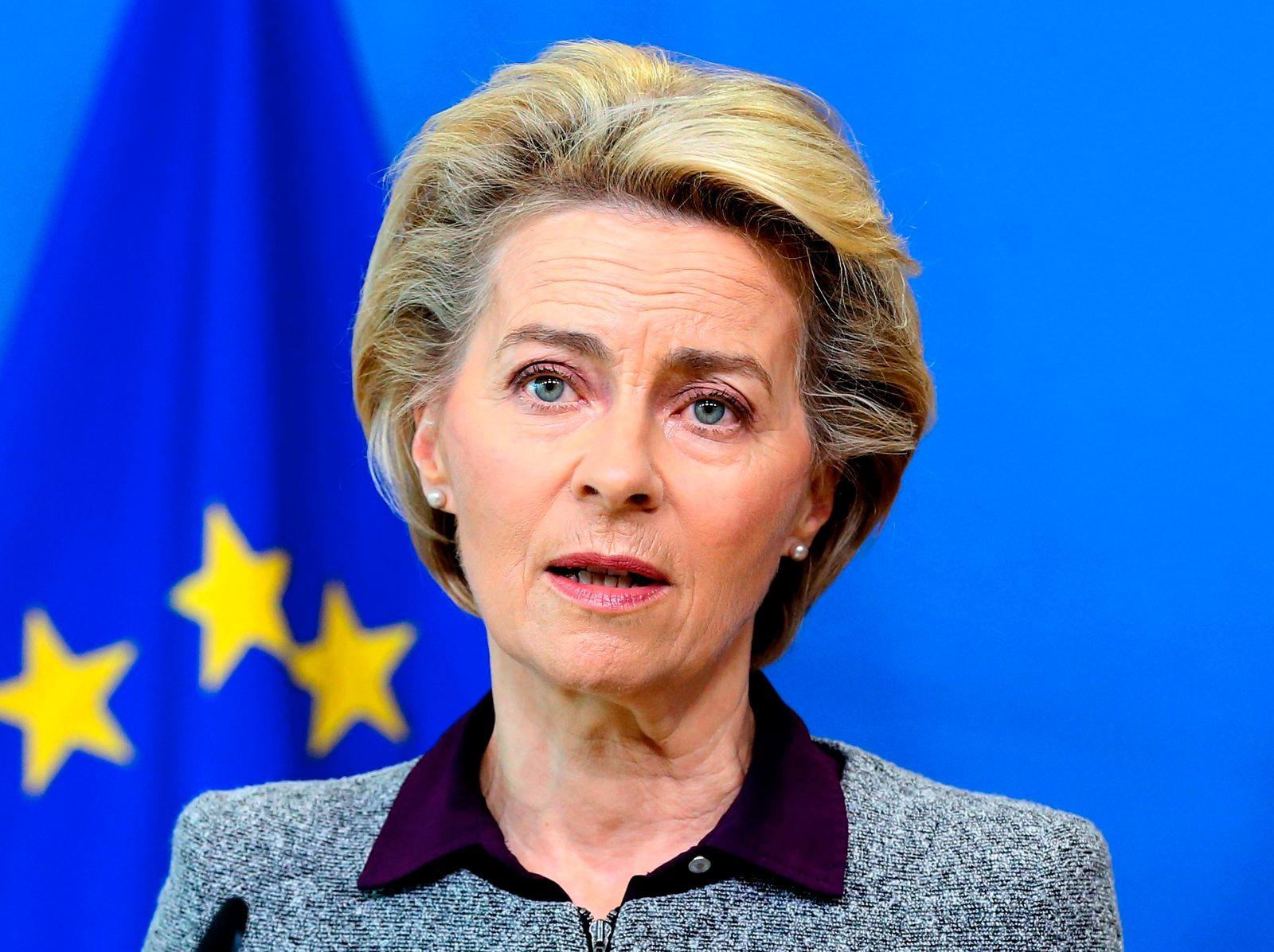 Von der Leyen zu EU-Austrittsabkommen