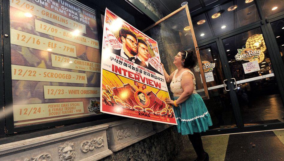 "Nordkorea-Komödie: Mehr als 200 US-Kinos zeigen""The Interview"""