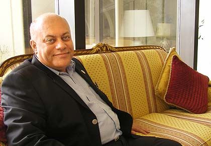 """Mahmood Al-Yousif is a popular Bahrain-based blogger. He says he is """"the voice of a silent majority."""""""