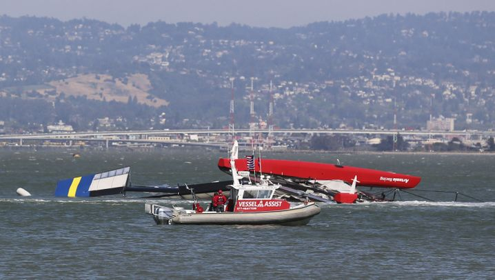 America's Cup: Olympiasieger stirbt bei Segelunfall