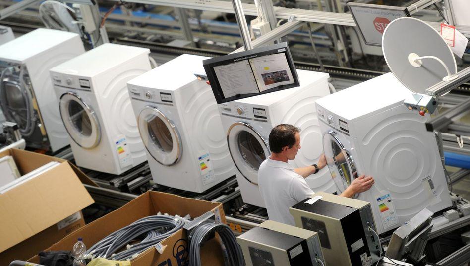 Waschmaschinen: Volle Kontrolle per App?