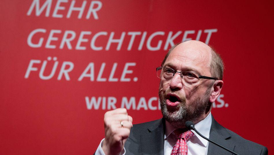Martin Schulz am 4.5.2017 in Lübeck