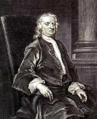 Isaac Newton (Gemälde von 1726): Naturforscher und Alchemist