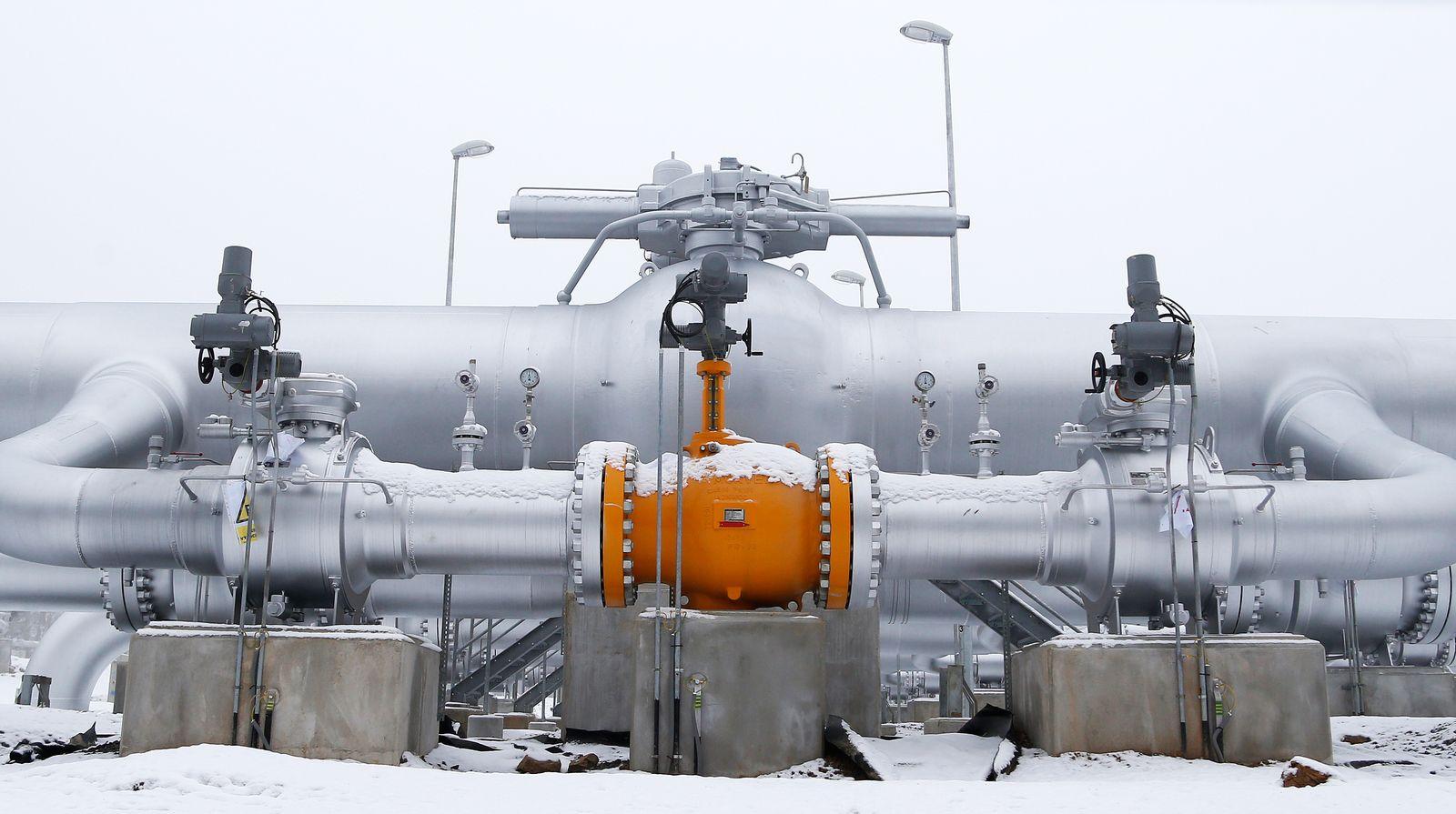 Russland / Deutschland / Gas-Pipeline / Nord-Stream-Pipeline