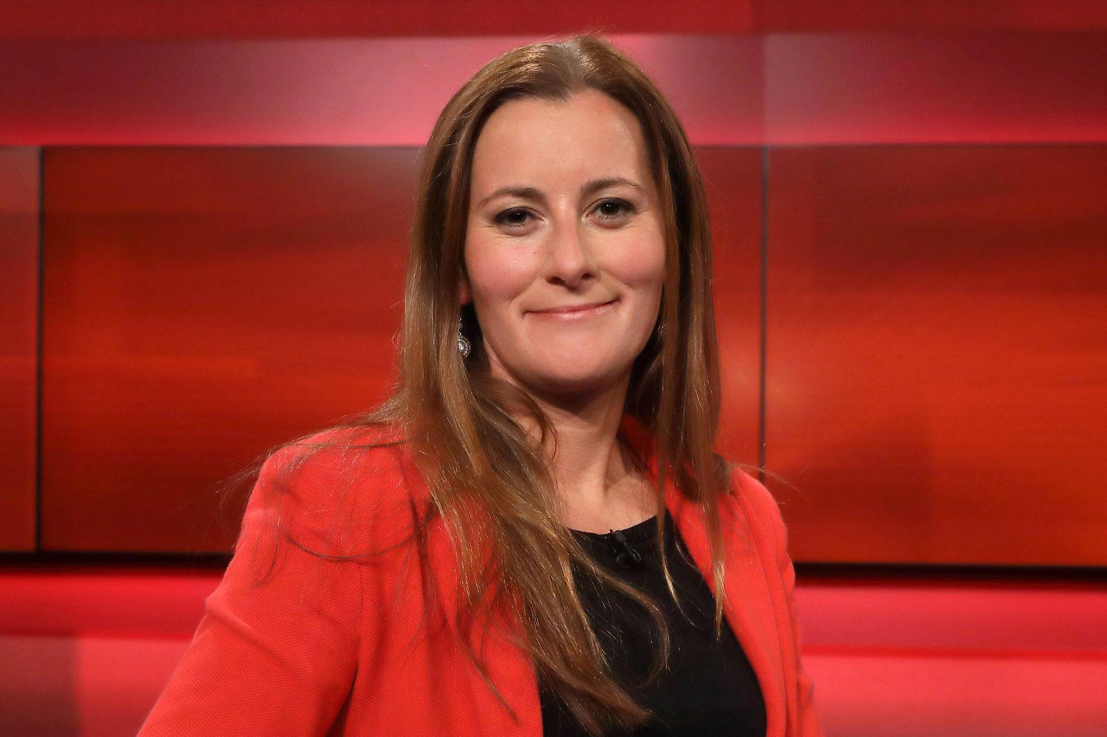 Janine Wissler (Fraktionsvorsitzende im Hessischen Landtag, DIE LINKE.) in der ARD-Talkshow hart aber fair am 14.10.2019