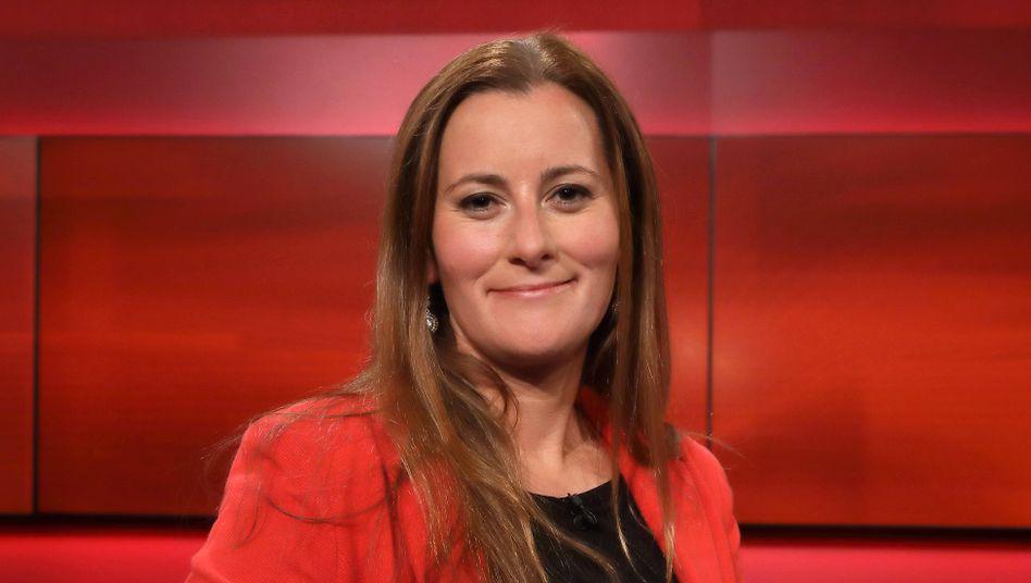 Janine Wissler, Chefin der Linksfraktion im hessischen Landtag