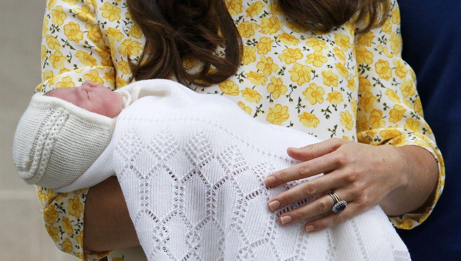 Royal Baby: Das ist die kleine Prinzessin