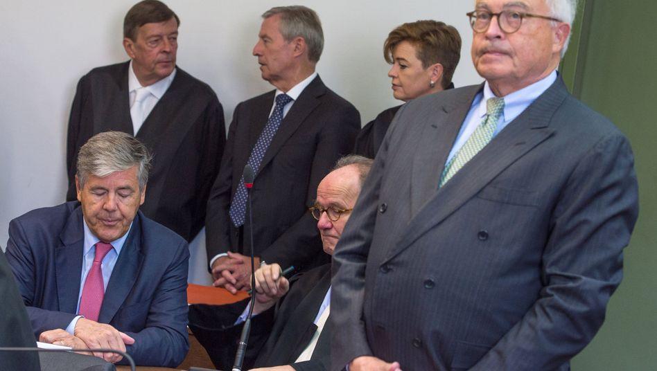 Angeklagte Deutsche-Bank-Manager