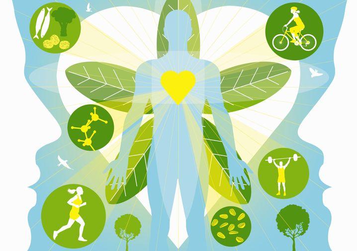 Gesunde Lebensweise: Wer dauerhaft abnehmen möchte, sollte nicht nur weniger essen