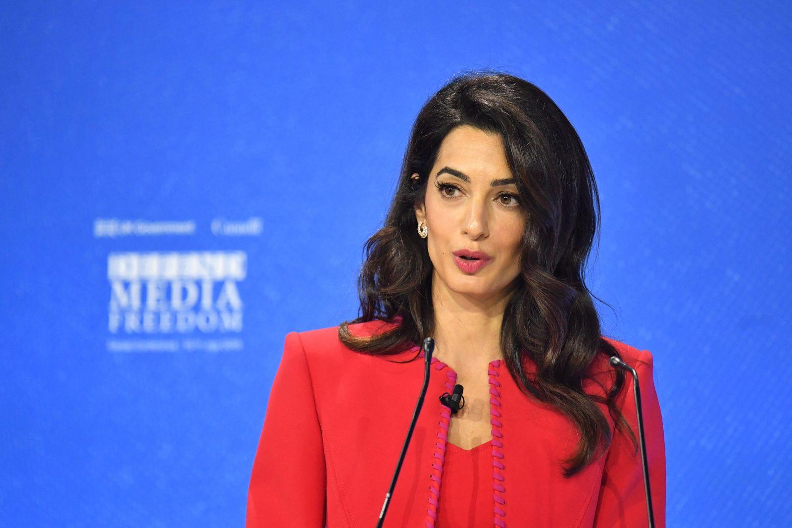 Amal Clooney für Einsatz für Pressefreiheit ausgezeichnet