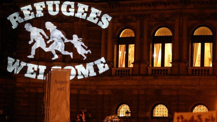"""Pegida: Protest gegen die """"Wutbürger"""""""
