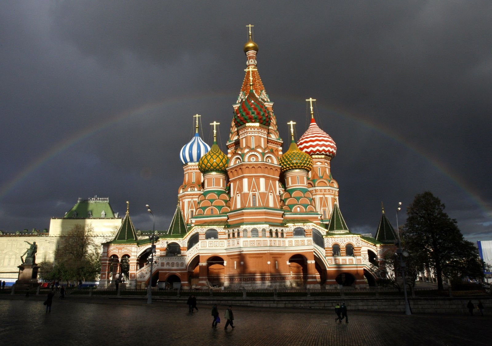 Moskau Roter Platz/ Kathedrale