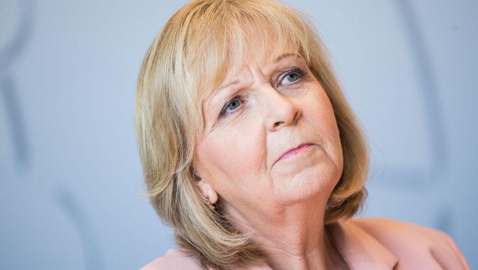 Nordrhein-Westfalens Ministerpräsidentin Hannelore Kraft