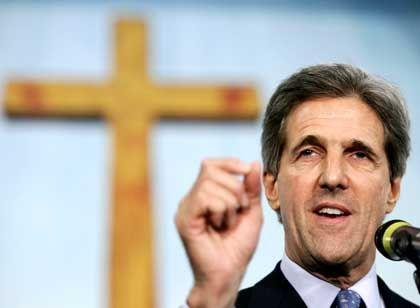 """Kirchenbesucher Kerry: """"Wir haben die Verbindung zum amerikanischen Volk verloren"""""""