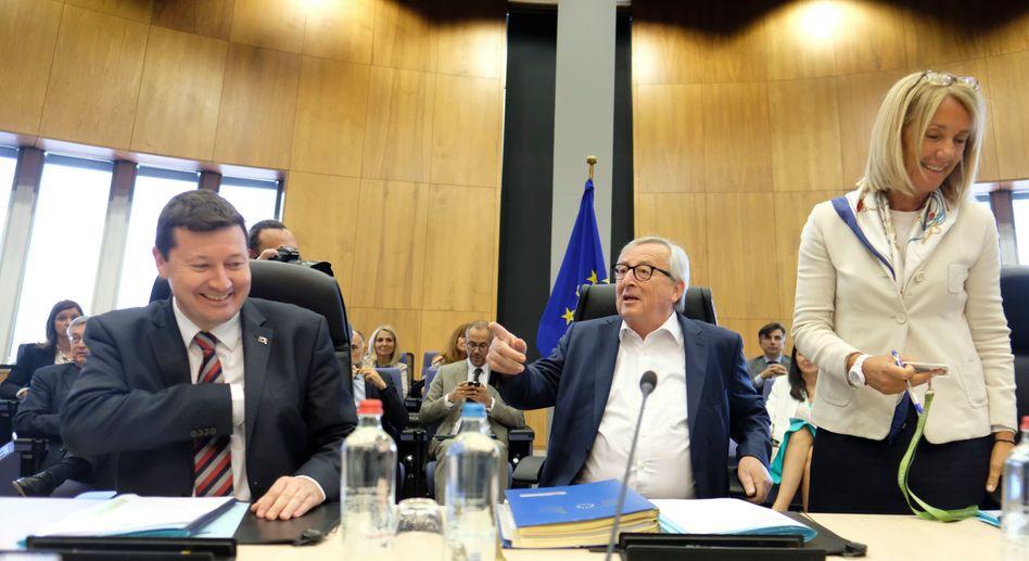 Martin Selmayr und Jean-Claude Juncker: Sie gelten als enge Vertraute