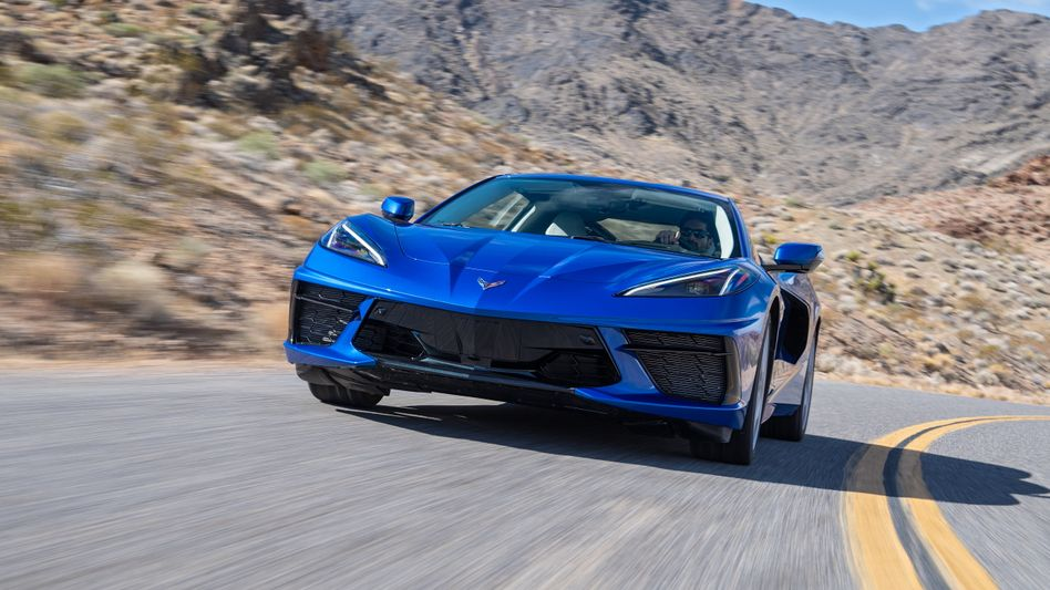 Die Chevrolet Corvette - jetzt in der achten Generation
