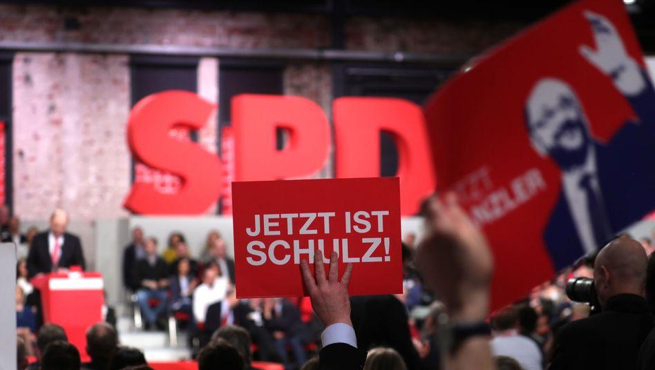 SPD-Sonderparteitag in Berlin