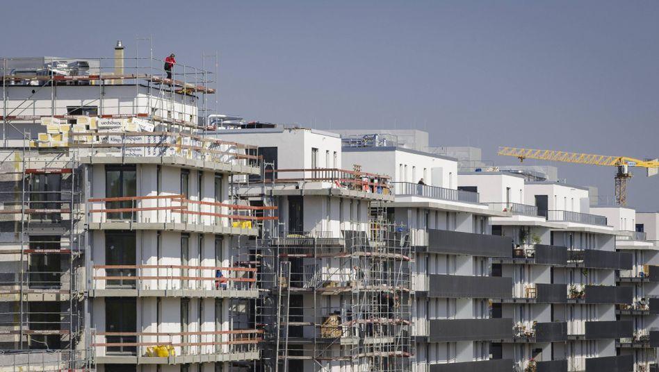 Hier tut sich etwas: Wohnungsbau in Berlin (Archiv)